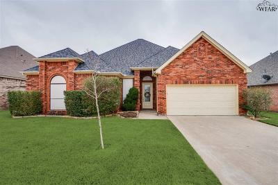 Wichita Falls Single Family Home Active-Contingency: 5407 Texas Star Lane