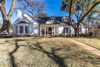 Wichita Falls Single Family Home For Sale: 2002 Avondale Street