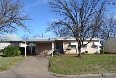 Single Family Home Active W/Option Contract: 303 Bluebonnet Drive