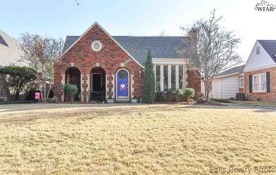 Single Family Home For Sale: 2411 Berkeley Drive