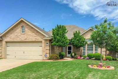Wichita Falls Single Family Home For Sale: 5009 Sunnybrook Lane