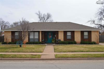 Wichita Falls Single Family Home For Sale: 4641 El Capitan Drive