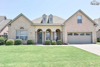 Wichita County Single Family Home Active W/Option Contract: 2923 S Shepherds Glen