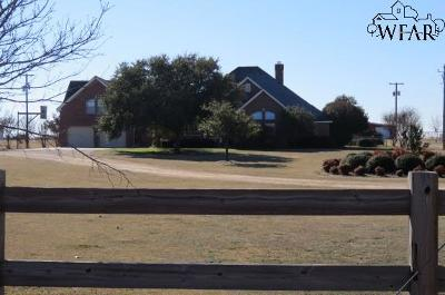 Wichita Falls Single Family Home For Sale: 583 Country Road