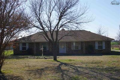 Wichita County Single Family Home For Sale: 8317 Carriage Lane