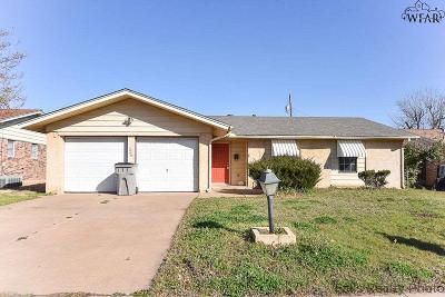 Wichita Falls Single Family Home For Sale: 1920 Margaret Drive