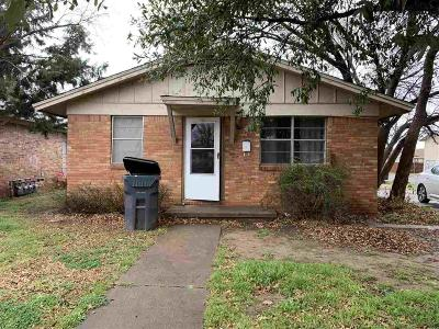 Wichita Falls Multi Family Home Active W/Option Contract: 1900 Huff Street