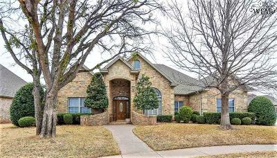 Archer County, Baylor County, Clay County, Jack County, Throckmorton County, Wichita County, Wise County Single Family Home For Sale: 6 Brass Lantern Court
