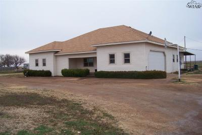 Wichita County Single Family Home Active W/Option Contract: 5444 N Hwy 25