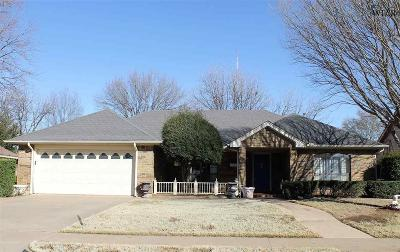 Wichita Falls Single Family Home For Sale: 4512 Wendover Street