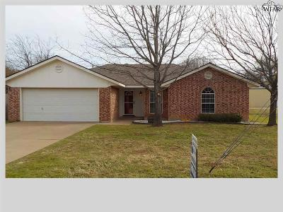 Burkburnett TX Single Family Home For Sale: $129,900