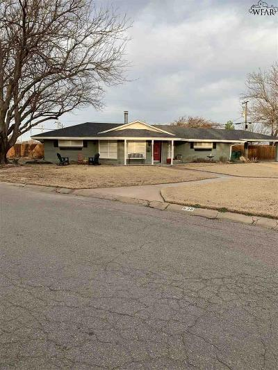Burkburnett TX Single Family Home For Sale: $199,900