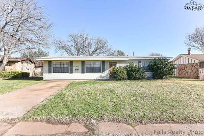 Wichita Falls Single Family Home For Sale: 4130 Moffett Avenue