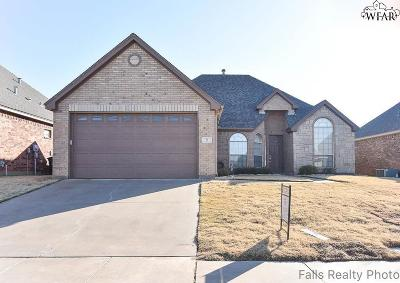 Wichita Falls Single Family Home For Sale: 3 Prairie Lace Court