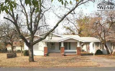 Wichita Falls Single Family Home For Sale: 1710 Monroe Street