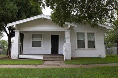 Wichita Falls Single Family Home For Sale: 2307 Avenue H
