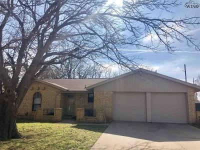 Wichita Falls Single Family Home For Sale: 4505 Trailwood Drive