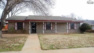 Wichita Falls TX Single Family Home For Sale: $113,500