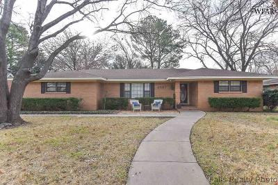 Wichita Falls TX Single Family Home For Sale: $220,000