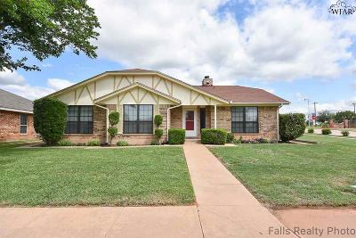 Wichita Falls TX Single Family Home For Sale: $169,900