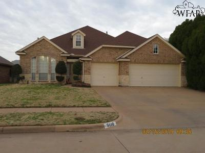 Wichita County Single Family Home For Sale: 5110 Belinda Drive