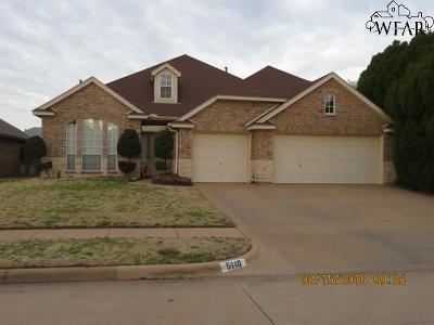 Wichita Falls Single Family Home For Sale: 5110 Belinda Drive