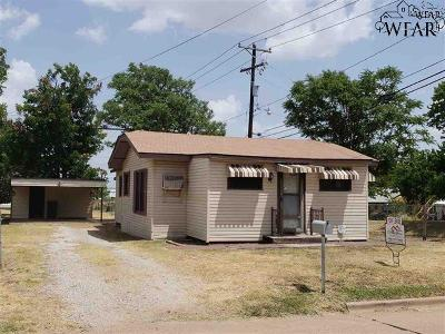 Wichita Falls Single Family Home For Sale: 2317 Jasper Street