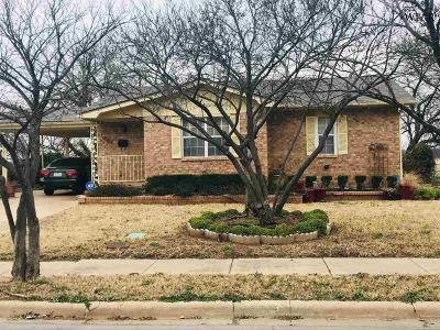 Wichita Falls Single Family Home For Sale: 1005 Williams Avenue