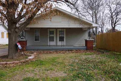 Wichita Falls Single Family Home For Sale: 1407 Fulton Street