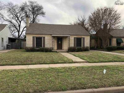 Wichita Falls Single Family Home For Sale: 1663 Victory Avenue