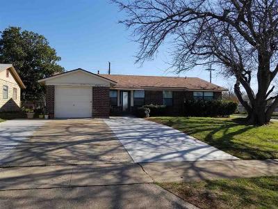 Wichita Falls Single Family Home For Sale: 1601 Central Freeway
