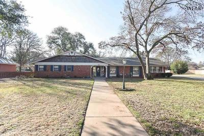 Wichita Falls Single Family Home For Sale: 2615 Chase Drive