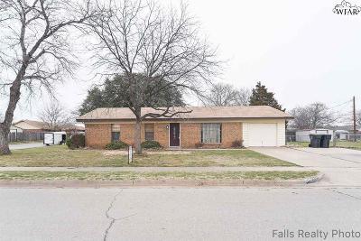 Wichita Falls Single Family Home For Sale: 1500 Longview Street