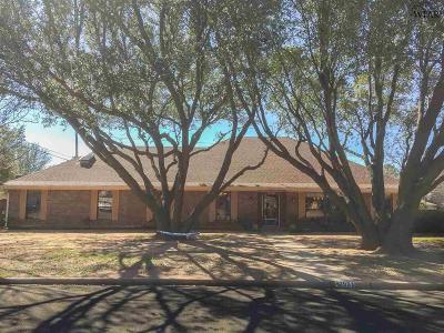Wichita Falls Single Family Home For Sale: 2001 Granada Drive