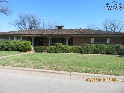 Wichita Falls Single Family Home For Sale: 905 Cedar Avenue
