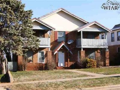 Wichita Falls Multi Family Home Active W/Option Contract: 3114 10th Street