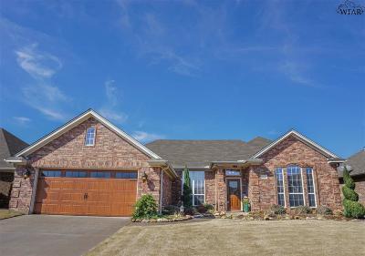 Wichita Falls Single Family Home Active W/Option Contract: 5018 L B Drive