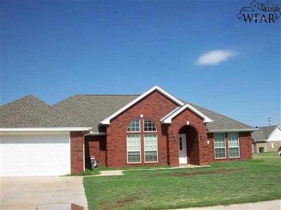 Wichita Falls Single Family Home For Sale: 5801 Lerma Lane