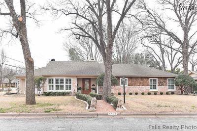 Wichita Falls Single Family Home For Sale: 2401 Clayton Lane