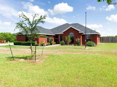 Archer County Single Family Home For Sale: 3563 State Highway 79 South
