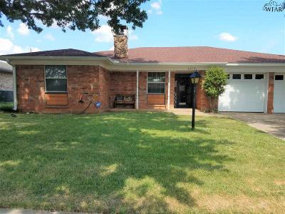 Wichita Falls Single Family Home Active-Contingency: 4303 Scottsdale Lane