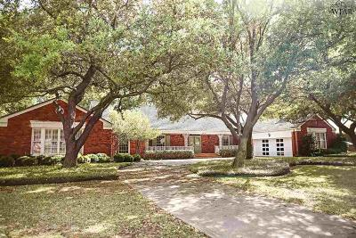 Wichita Falls Single Family Home For Sale: 2303 Farington Road