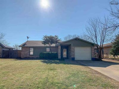 Wichita Falls Single Family Home Active-Contingency: 223 Dirks Drive