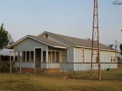 Archer County Rental For Rent: 406 W Live Oak Street