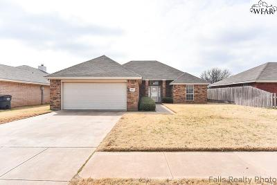 Wichita Falls Single Family Home Active W/Option Contract: 6013 Sandy Hill Boulevard