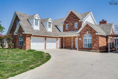Iowa Park Single Family Home Active W/Option Contract: 4227 Country Meadows Drive