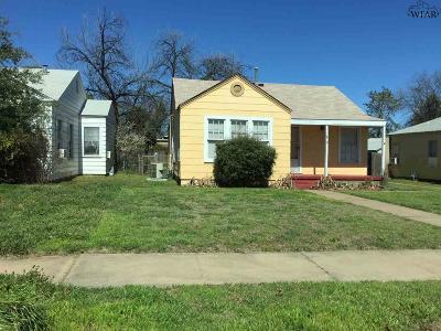 Wichita Falls Single Family Home For Sale: 1810 Wilson Avenue