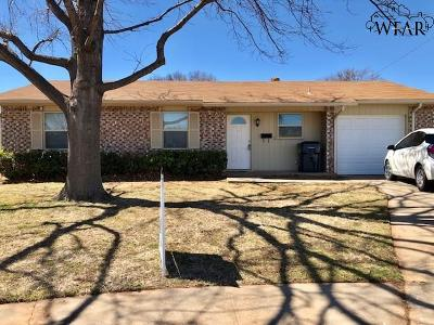 Wichita Falls Single Family Home For Sale: 4606 N Eden Hills Circle