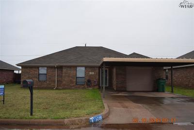 Iowa Park Single Family Home Active W/Option Contract: 1228 Newman Avenue