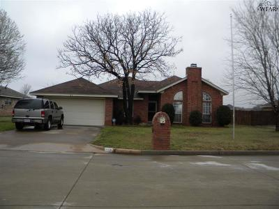 Burkburnett TX Single Family Home For Sale: $118,900
